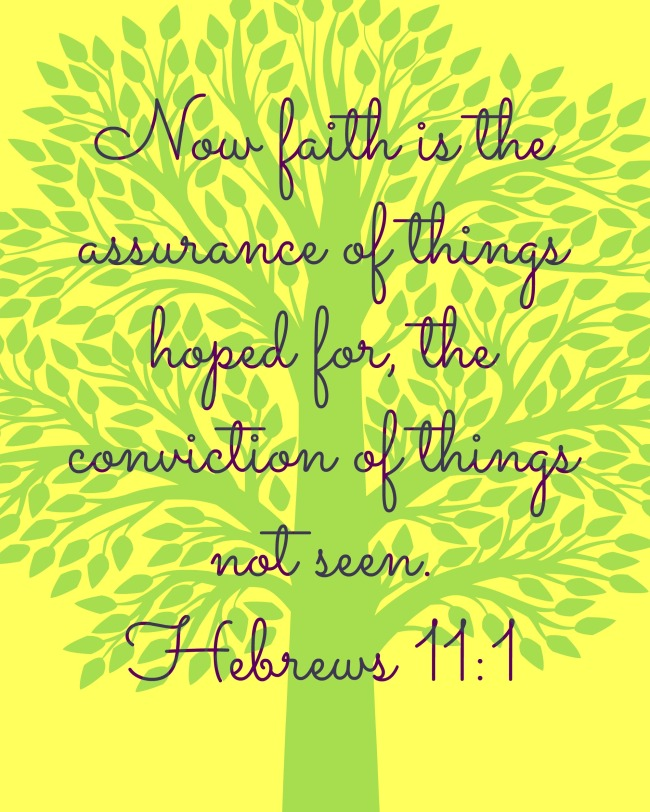 Verse of the Week: Hebrews 11:1