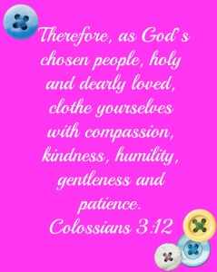 Verse of the Week: Colossians 3:12